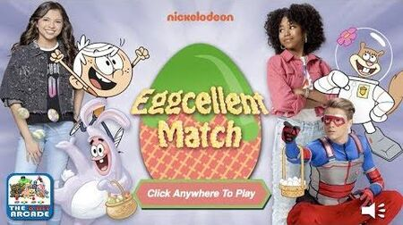 Eggcellent Match - Memorize and Match the Easter Eggs (Nickelodeon Games)