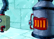 Welcome to the Chum Bucket oven background art