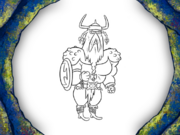Viking-Sized Adventures Character Art 25