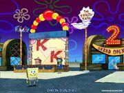 3d Spongebob & 1 3d Reporter Fish