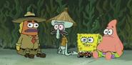 Squid's stranded