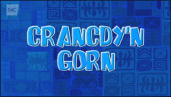 Crancdy'n gorn