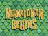 Mermaid Man Begins title card