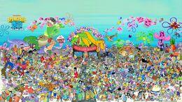 SpongeBob SDCC 2019 Poster
