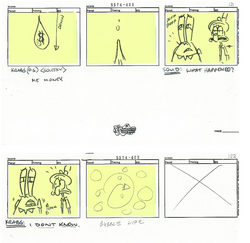 All That Glitters - Storyboard