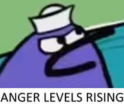 Anger Levels Rising