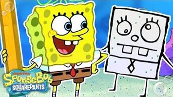 DoodleBob Comes to Life! ✏️ ThrowbackThursdays SpongeBob