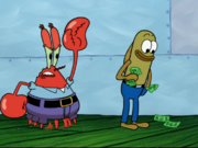 Mr. Krabs in Stuck in the Wringer-4
