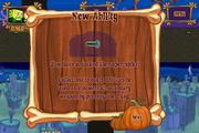 Halloween Horror Part 2 New Ability Super Spike