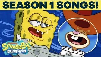 Season 1 SpongeBob Songs! 🎶 TuesdayTunes
