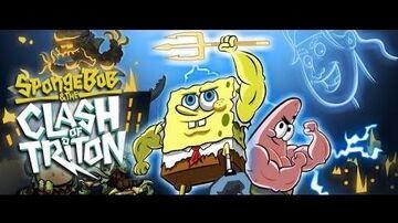 SpongeBob & the Clash of Triton (All Cutscenes)