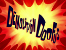 Demolition Doofus title card