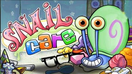 SpongeBob SquarePants Snail Care