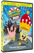 The SpongeBob SquarePants Movie Bilingual DVD cover