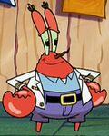 Mr. Krabs Wearing His Naval Jacket