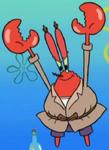 Mr. Krabs Wearing a Trench Coat