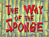 The Way of the Sponge title card