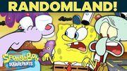SpongeBob & Squidward Explore Randomland! 😸 Things Get Weird..