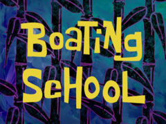 Boating School title card