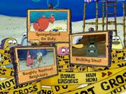 SpongeGuard on Duty DVD Region 1 episode selection screen 1
