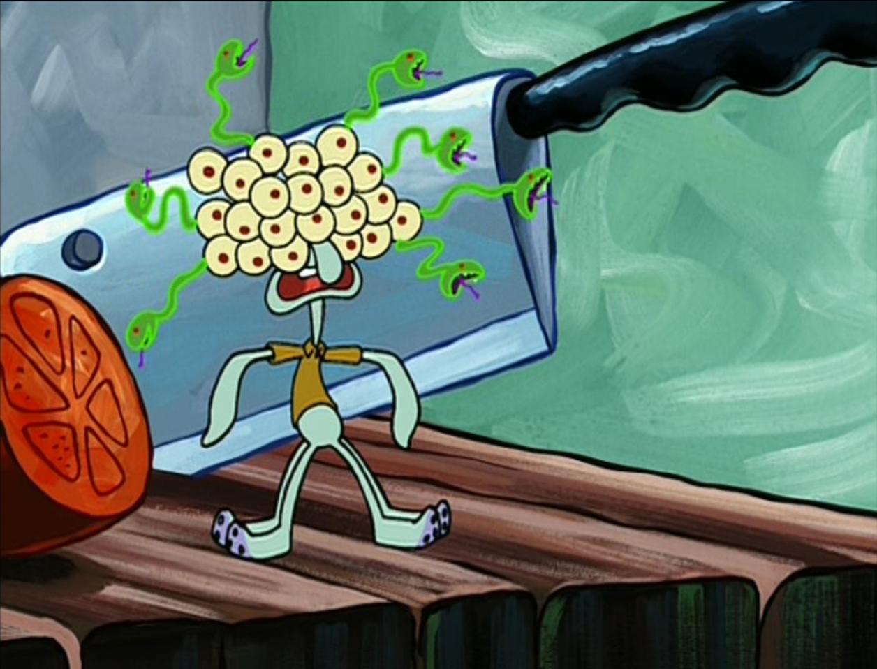 image monster squidward png encyclopedia spongebobia fandom