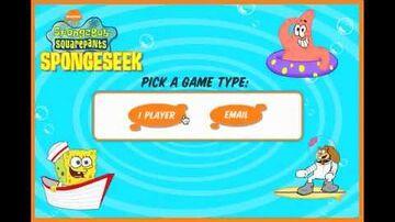 SpongeBob SquarePants SpongeSeek - Full Game
