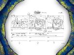 Chum Caverns storyboard panels-8