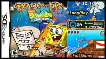 Drawn to Life SpongeBob SquarePants Edition - Full Game