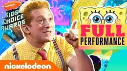 SpongeBob the Musical Performs 'Best Day Ever' Theme Song Medley 2019 Kids' Choice Awards