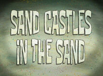 Sand Castles in the Sand
