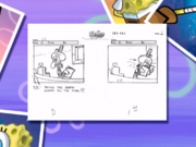 To SquarePants or not to SquarePants storyboard panels-3