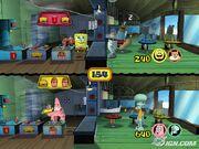 3d Spongebob, 3d Squidward & 2 3d Costumers, 3d Sandy & 1 3d Costumers, & 3d Patrick