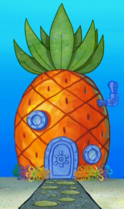 spongebobs pineapple house in season 8 4png