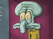 Squid disturbed