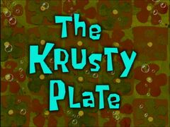 The Krusty Plate