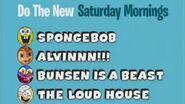 "June 3 Do The New Saturday Mornings w ""SpongeBob"", ""ALVINNN!!!"", ""Bunsen"" and ""The Loud House"""