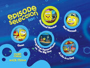 Disc 1 episode selection menu 2