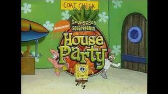 SpongeBob's House Party DVD Deleted Scenes