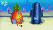Squidward's house in Lame and Fortune