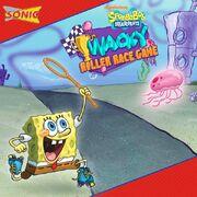 SpongeBob's Wacky Roller Race Game promo