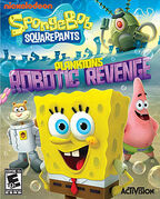 SpongeBob SquarePants Planktons Robotic Revenge NA game cover