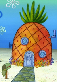 SpongeBob's pineapple house in Season 4-10