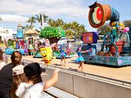 SpongeBob and friends parade