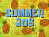 Summer Job title card