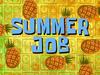 Summer Job title card