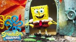 Theme Song Reimagined in Stop Motion 🎤 SpongeBob