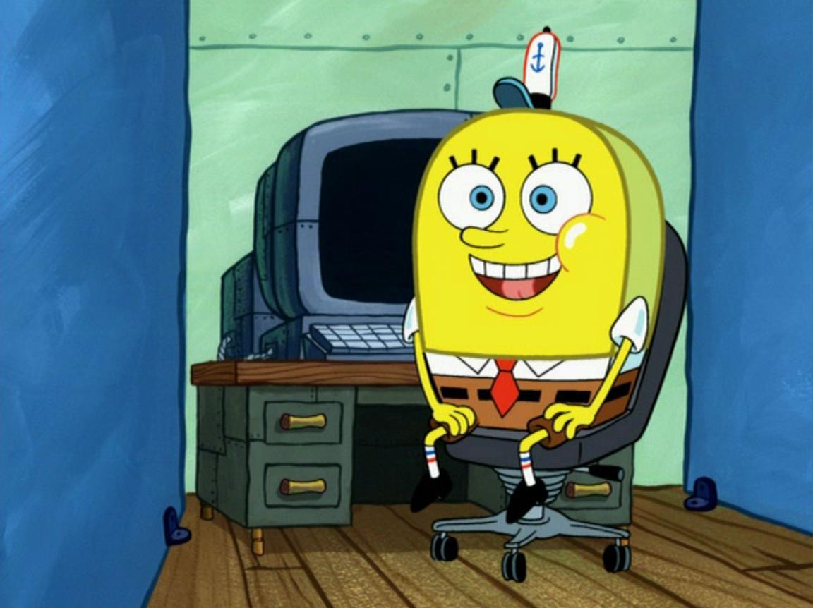 Normal spongebob