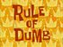 Rule of Dumb
