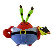 Mr Krabs plush