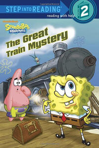 The Great Train Mystery Reprint cover